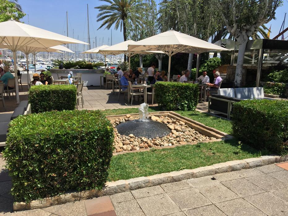 Club de Mar, Mallorca 1994 - Esculturas