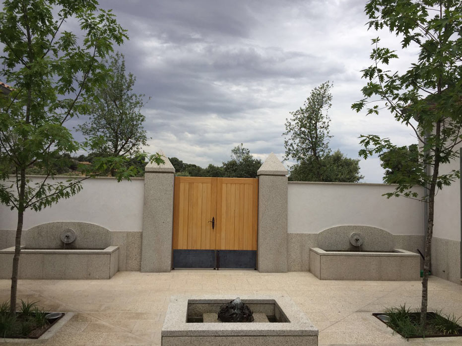 Toledo Lagartera - Country garden