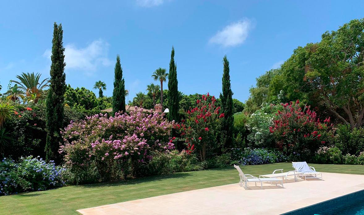 Pº Parque Cádiz - Jardín urbano